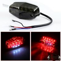 Motorbike Universal LED Lucas Tail Light Taillight Indicator Lamp For Cafe Racer