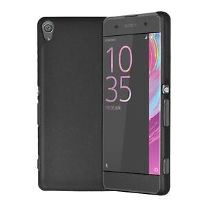 For Sony Xperia XA Thin Slim Hybrid Hard Case Clip On Back Cover & Screen