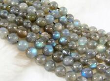 """Natural 6mm Labradorite Round Gemstones Loose Beads 15"""" AAA"""