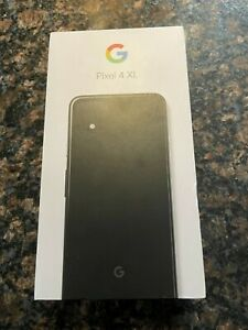 Google Pixel 4 XL G020J - 128GB - Just Black - with box and accessories - unused
