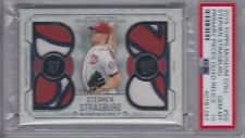 2015 Topps Museum Stephen Strasburg Primary Pieces PSA 10 Nationals