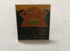Couch Potato Pin Badge