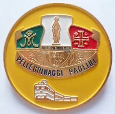 Insigne Religieux ITALIE PELERINAGE LOURDES PELLEGRINAGGI CATHOLIC BADGE 5