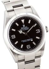 Rolex Explorer I 114270 SS Black Dial Oyster Automatic F Serial 36mm