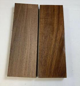 2 Piezas Lote, Negro Nogal Madera 3/10.2cm X 10.2cm x 30.5cm