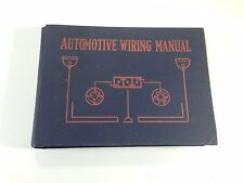 1920 Automotive Wiring Manual by Harry Lorin Wells Blueprint Wiring Diagrams