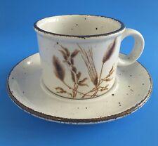 STONEHENGE MIDWINTER WILD OATS COFFEE MUG & SAUCER