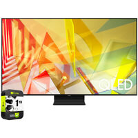 """Samsung 55"""" Q90T QLED 4K UHD HDR Smart TV 2020 Model with Extended Warranty"""