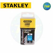 Stanley Light Duty Staple 10mm 1000pc Type A Sharpshooter 0-TRA206T STA0TRA206T