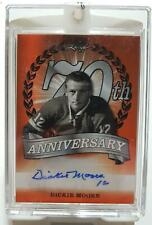 2018 Leaf Dickie Moore 1/1 Auto 70th Anniversary Autograph Canadiens 17-18