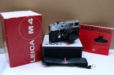 """Leitz Leica 10400 - Leica M4 Kit Summicron 1:2/35mm """"Kamera mit OVP"""" - RAR!"""