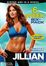 Jillian Michaels: Six Week Six Pack  - DVD - NEW Region 4