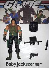 DART v.2 2003 Hasbro GI Joe Figure, Case & Accessories Lot A
