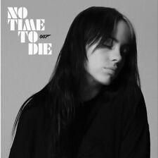 "BILLIE EILISH ""NO TIME TO DIE"" RARE UK CD PROMO - JAMES BOND 007 SOUNDTRACK"