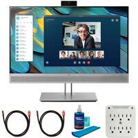 "Hewlett Packard 24"" EliteDisplay E243m Monitor with Cleaning Bundle"