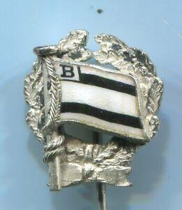 Fußball-Abzeichen / Silberne Ehrennadel vor 1945 des BERLINER SPORT-VEREIN 1892