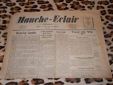 Journal MANCHE-ECLAIR, éd. du Sud de la Manche - n° 7, 16/02/1946