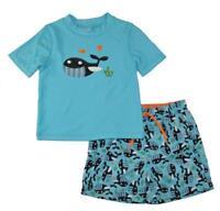 Kiko /& Max Infant Girls Navy Gold Bikini Swimsuit Size 3//6M 6//9M 12M 18M 24M