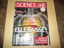 science et  vie 1149   esperance de vie .....