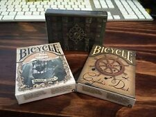 Set of 3 Bicycle Seven Seas, Captains Deck & Treasure Box Limited Edition Decks