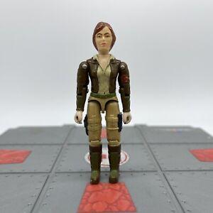 1983 V1 GI Joe COVER GIRL Action Figure Vintage Military Toy