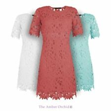 Crochet Polyester Casual Dresses for Women