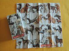 Taschentücher Hunde viele Hunderassen 1 Packung Ihr servietten dogs Tiere