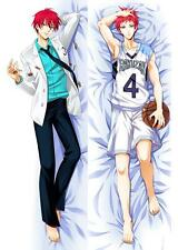 BL Anime Kuroko no Basket Akashi Cosplay Costume Hugging Body Pillow Case Cover