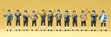 "Preiser 10250 H0 Figuren ""Bayerische Musikkapelle""  #NEU in OVP##"