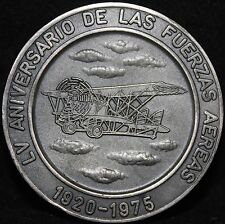 VENEZUELA JUEGOS DEPORTIVOS INTERFUERZAS 1976 MILITARY MEDAL SPORT GAMES/AIRPLAN
