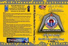2018 Jack Hogan Karate International Martial Arts HKI Kyusho Camp 2 DVDs Set