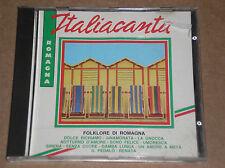 FOLKLORE DI ROMAGNA - ITALIA CANTA - CD COME NUOVO (MINT)