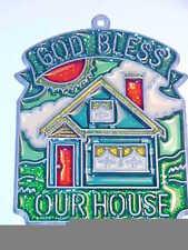 SUNCATCHER - GOD BLESS OUR HOUSE