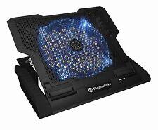 """ThermalTake CLN0020 Massive 23 GT Black Notebook Cooler 10-17"""", 200mm Blue LED"""