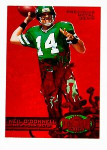 1997 Metal Universe Neil O'Donnell Precious Metal Gems PMG Red /150 #51