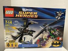 Lego 6863 DC Super Heroes Batwing Battle Over Gotham City.Retired New!Sealed