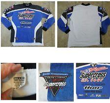 VTG SUPERCROSS SHIRT 1999 25th Anniversary Supercross Series L/S Made in USA XL