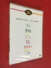 (DVD) ZELIG (1983) WOODY ALLEN MIA FARROW FILM NUOVO SIGILLATO