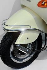 Stoßstange Kotflügel Vorne Chrom Doppelrohr Vespa ET4 M19 125ccm Bj.2000-2006