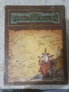 D&D The forgotten Realm Atlas Karen Wynn Book