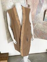 Vintage Burberry's Beige Wool Burberry Womens Coat Liner Medium / Large