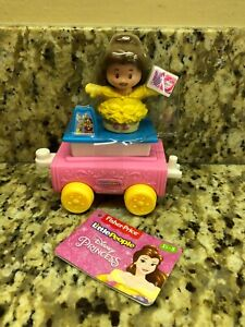 Fisher Price Little People Disney Belle and Vehicle