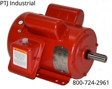 1hp electric motor 143T 1 phase 1750 rpm 115/230 f143t1s4c-mo leeson 121569