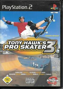 Tony Hawk´s Pro Skater 3 - Sony Playstation 2 mit Anleitung