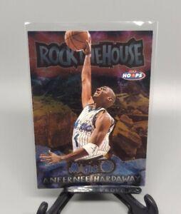 1997-98 Skybox NBA Hoops Rock The House Anfernee Hardaway #1 NBA Card Rare