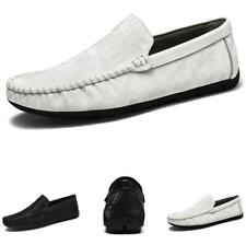 Men's Pumps Slip on Loafers Shoes Driving Moccasins Flats Soft Comfy Business D