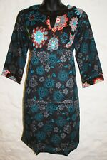 New Fair Trade Kurta Top 12 14 Ethnic Boho Ethical India Printed Cotton Tunic