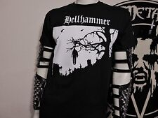 HELLHAMMER. NEW MED SHIRT. BLACK METAL. CELTIC FROST. VENOM..BATHORY. BEHERIT.
