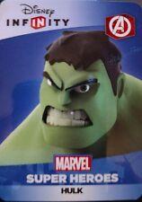 Disney Infinity 2.0 Marvel Super Heroes Avengers Hulk Web Code Card
