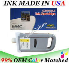 Cartridge fit canon PFI-703 Yellow Y DYE Ink iPF 810 815 820 825 imagePROGRAF y